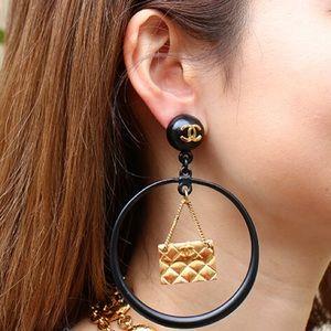 CHANEL vintage hoop 1994 earrings